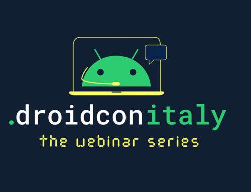 droidcon Italy webinar series